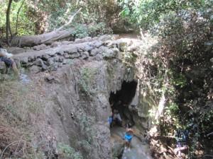 Ancient bridge at Ein Yakim