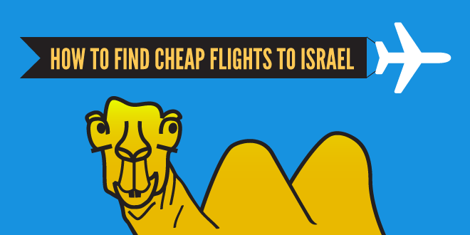 How to find a cheap flight to israel?