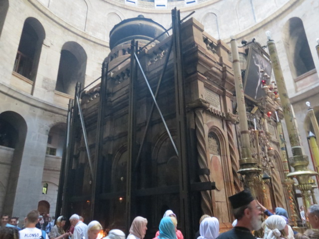 Syrian Chapel in Holy Sepulchre