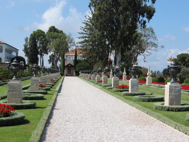 The Bahai Gardens in 'Akko