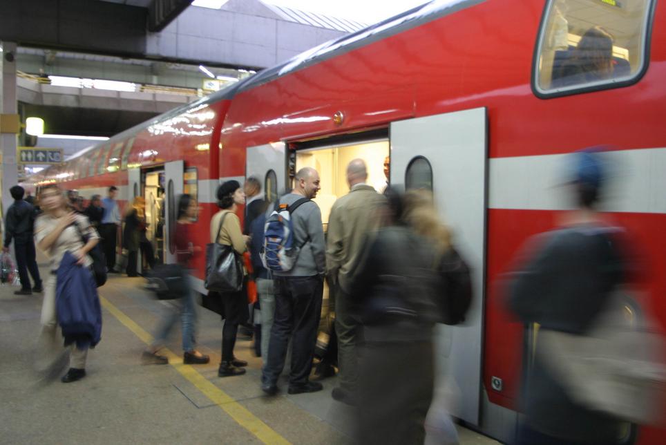 Train Travel in Israel