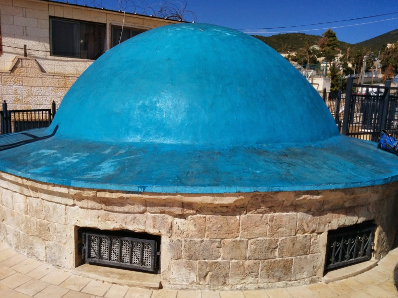 Rashbi's Grave - Dome over the Grave