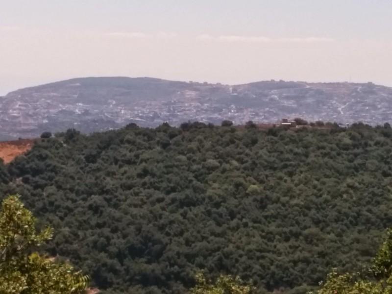 Mount Meron to the South