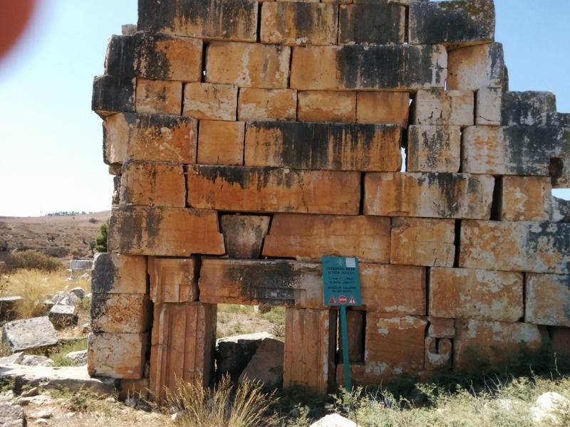 Pagan temple in Tel Kedesh