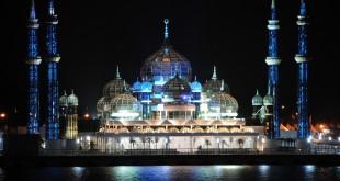 Cyristal Mosque in Kuala Terengganu – Malaysia
