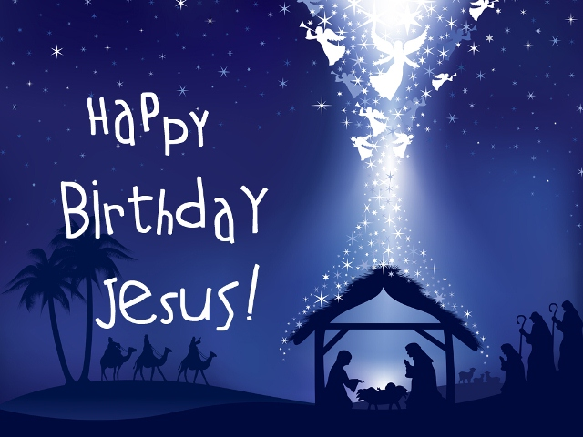 Happy Birthday Jesus - Merry Christmas - Israel and You